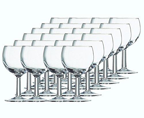Weingläser Gläser-Set Serie Balloni 12 teilig | Füllmenge 190 ml | Weingläser Ballon ideal für...