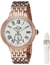 GV2by Gevril Damen-9102Astor Analog Display Quarz Rose Gold Watch