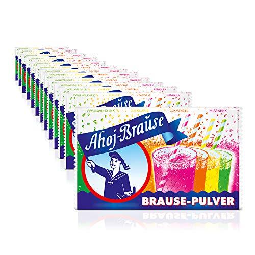 Frigeo Ahoj-Brause Brause-Pulver 4-fach sortiert, 14-er Pack  (14 x 58 g)