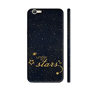 Colorpur Vivo V5 / V5s Cover - Under The Stars On Night Sky Printed Back Case