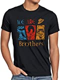 Die besten Brother T Shirts - CottonCloud We Are Brothers Herren T-Shirt Ruffy Ace Bewertungen