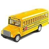 #7: Kinsmart School Bus with Opening Doors and Diecast Metal