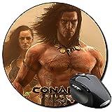Conan Exiles Tappetino Per Mouse Tondo Round Mousepad PC