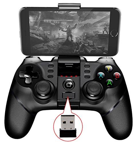 2017 Nuevo Batman juegos Gamepad Bluetooth inalámbrico controlador gamepad Joystick para iPhone Android teléfono Win XP Tablet PC