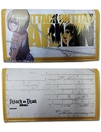 Preisvergleich für Wallet–Attack on Titan–Armin Girl Style Toys Anime Lizenzprodukt ge80306