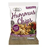 Best Hummus - Eat Real Hummus Tomato and Basil Chips 45 Review