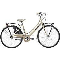 Bicicleta cicli Cinzia decoville Mujer, marco de acero, 6 velocidades, 26 pulgadas,