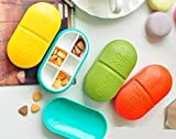 Best Pill Boxes - istore 6 Parts Portable Pill Box Medicine Case Review