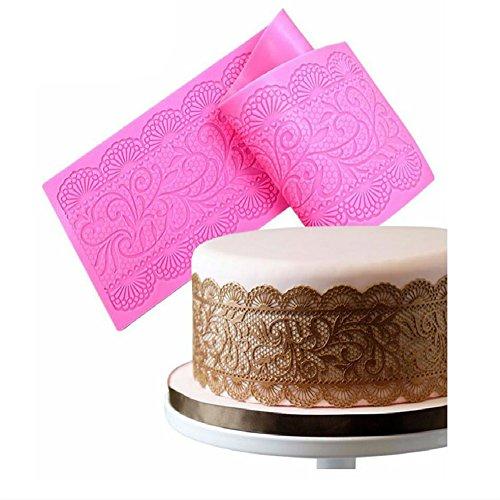 Silikonform für Kuchenverzierungen aus Fondant