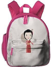 Chinese Beauty Toddler Kids Pre School Bag Cute 3D Print Children School Backpack