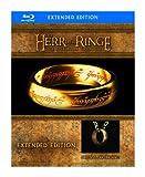 """Der Herr der Ringe - Die Spielfilm Trilogie (Limited Extended Editions inkl. Der Eine Ring""""-Replik, exklusiv bei Amazon.de) [Blu-ray] -"""