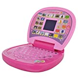 #9: Kids Choize Educational Learning Laptop with LED Display (Pink)