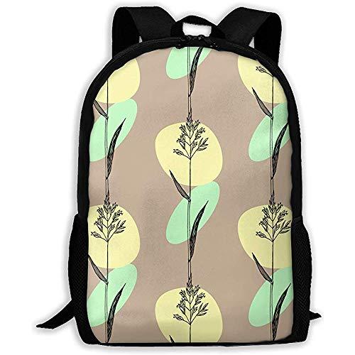 Schultasche Unisex Adult Schulrucksack Kentucky Bluegrass Bookbag Casual Reisetasche -