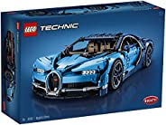 LEGO Technic Bugatti Chiron 42083 Race Car Building Kit and Engineering Toy, Adult Collectible Sports Car with