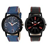 Gesture Combo Of Two Royal Watches For M...