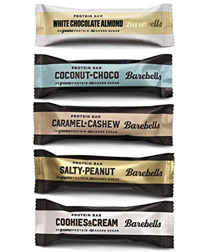 Barebells Protein Bar - 12 x 55g - (Mix-Box) 5 Sorten -