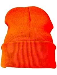 Gorro Naranja(Plain Beanie Hat Orange)