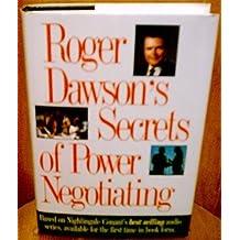 Roger Dawson's Secrets of Power Negotiating by Roger Dawson (1995-02-02)