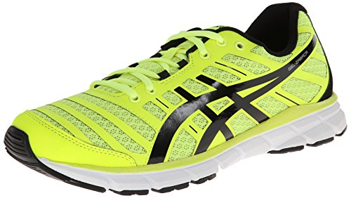 Asics Gel Zaraca 2 Synthétique Chaussure de Course Flash Yellow/Black/Silver