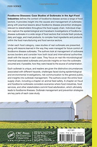 Foodborne Diseases: Case Studies of Outbreaks in the Agri-Food Industries