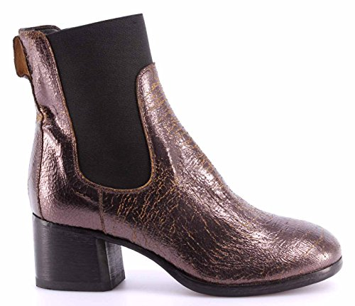 MOMA Damen Schuhe Stiefeletten Ankle Boots 94505-7B Old Boy New Car Vintage ITA