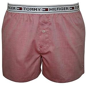 51tmH5ok92L. SS300  - Tommy Hilfiger Hombre Auténticos Boxers Tejidos, Rosado