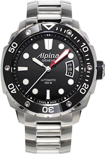 Alpina Extreme Diver 300 Herren 44mm Automatikwerk Saphirglas Uhr AL525LB4V36B