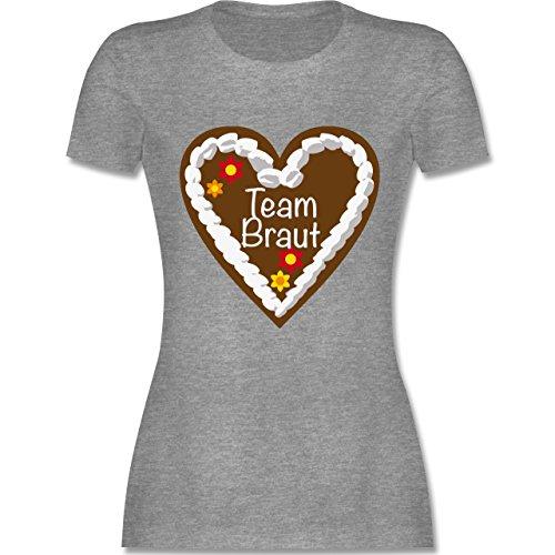 jga-junggesellinnenabschied-lebkuchenherz-team-braut-xxl-grau-meliert-l191-tailliertes-premium-t-shi