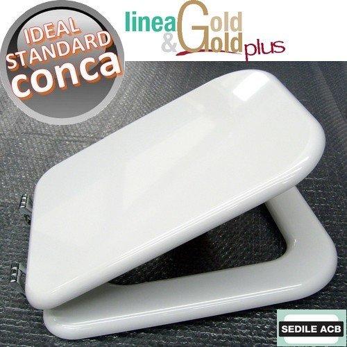 Asse sedile per wc conca ideal standard - marca acb linea gold