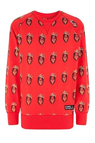 Eleven paris - sunhigy - sweat-shirt - imprimé - homme Rouge