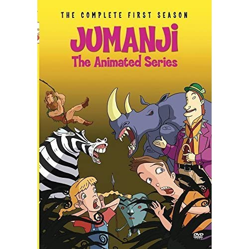 JUMANJI - THE ANIMATED SERIES - SEASON 1 (2 Discs) by Bill Fagerbakke 3