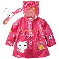Kidorable My First Rain Coat - Cat Design - Size 3T