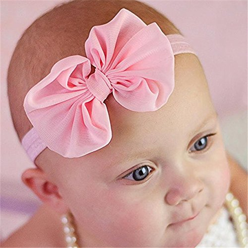 SKUDGEAR Pack of 14 Baby Headbands Bow Knot Baby Hair Bands