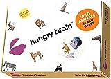 Wild Animals Hungry Brain Flash Cards