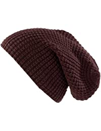 PEARL urban tricot-taille xXL-bonnet modèle long marron foncé