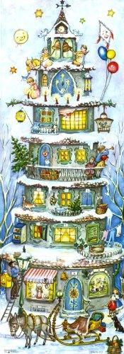 """Adventskalender \""""Weihnachtsturm\"""" von 1955"""