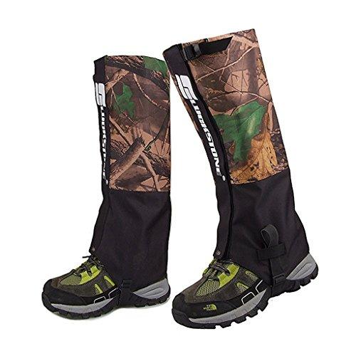 1 paire de guêtres Nalmatoionme pour les activités à l'extérieur, double couche et imperméables - Pour randonnée, marche, escalade, neige