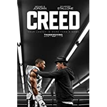 CREDO cartel Original de la película (Sylvester Stallone como Rocky, Michael B, Jordan) starstills Original cartel de cine (69 x 102 cm)