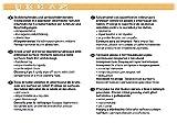 d-c-fix Tischschoner - Breite 105 cm Länge wählbar - Weiss 105 x 310 bzw. 310x105 cm Eckig ( Rund Oval anpassbar ) Tischpolster Schondecke Unterlage - 6