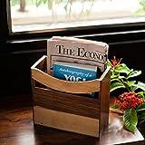 ExclusiveLane Elegant Magazine Cum Newspaper Stand in Sheesham Wood