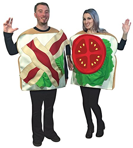 Sandwich Für Kostüm Erwachsene - BLT Sandwich Couples Adult Fancy dress costume Standard
