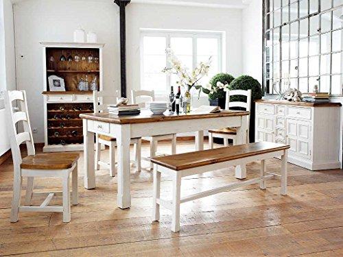 Essgruppe Essecke Massiv Holz BODDE Used Look Vintage – Shabby Style