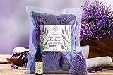 20 Lavendelsäckchen a 10g aus Provence und 10ml Lavendelöl zum Erfrischen - Organzabeutel - Lavendel Duftsäckchen