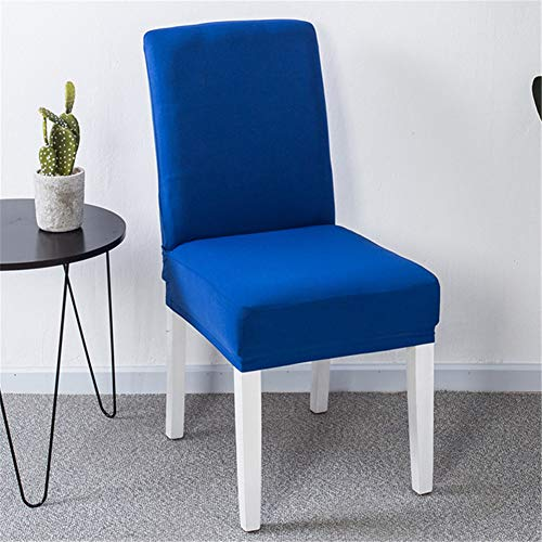 KinderALL Staubschutzhaube Stuhlhussen Schutzhülle Hochzeit Sitzbezüge Kurze Stuhlhussen abnehmbare Stuhlhussen waschbare Stuhlhussen Schonbezüge für Hochstühle Blue