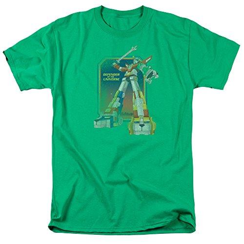Voltron Defender The Universe Lizenziertes T-Shirt - Schwarz - Mittel