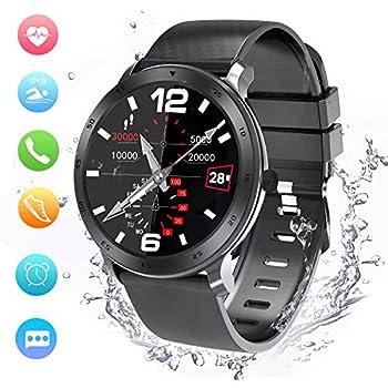 Smartwatch, Reloj Inteligente Impermeable IP68 Pulsera Actividad Inteligente Mujer Hombre, Reloj Deportiva Cronómetro/Monitor de Ritmo ...