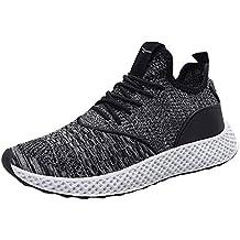 Zapatillas de Running para Hombre,JiaMeng Zapatillas Deporte Hombre Zapatos para Correr Athletic Zapatillas de
