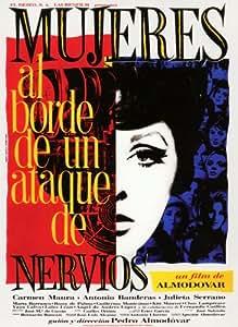 Affiche du film Mujeres al borde de ataque de nervios (69 x 102 cm)
