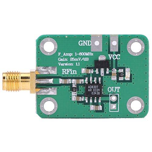 Akozon 1-600 MHz RF Signal Power modul Meter Logarithmischen Detektor hohe frequenz -74dBm zu 18dBm Radio Frequency Detection Detektor Radio