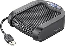 Plantronics Calisto P420 USB Speakerphone - Black/Silver